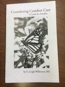 These booklets are available at no charge to area residents from TCMH Hospice of Care.