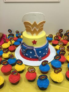 Nurses are Superheroes cake