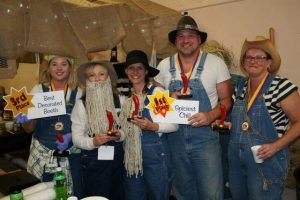 """Bonafide Chili"" from the ""Grid Iron Gang"", the TCMH  medical surgical department won for ""Spiciest Chili"" of 21 different chili recipes that were judged.  They also won awards for Best Decorated Booth and People's Choice."