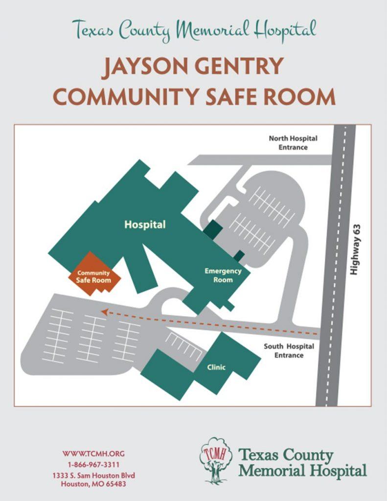 Safe Room Storm Shelter Texas County Memorial Hospital