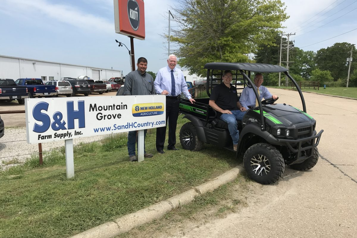 Kawasaki Mule Raffle to Benefit Hospice of Care – Texas